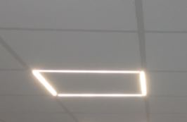 Recessed Frame Panel Light
