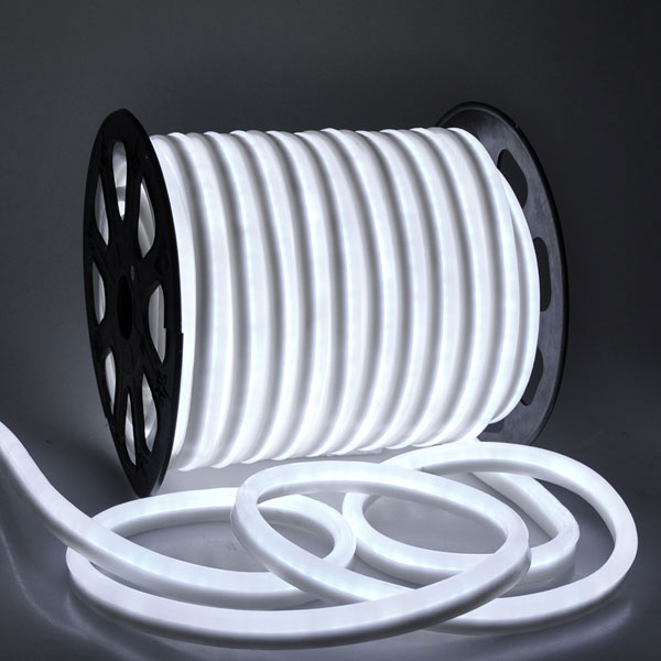 50M Roll Neon LED Strip Warm White 240v