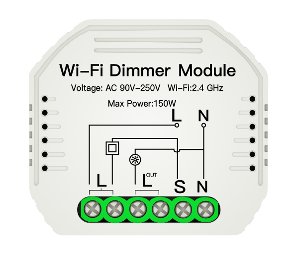Wifi Dimming Module for up to 150w