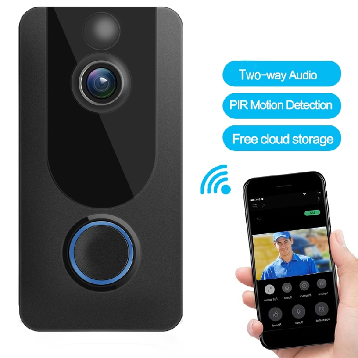 wifi doorbell c/w with chime